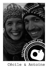 antoine et cecile reporter de voyage travel vox