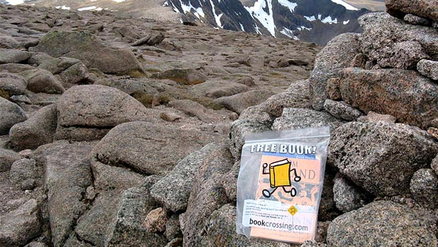 Bookcrossing livres voyage