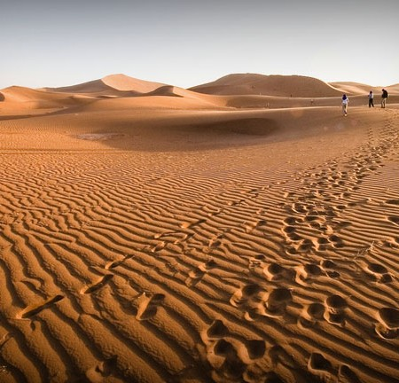 voyage dans le desert Sahara